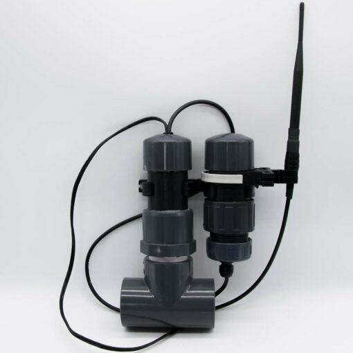 Netatmo Poolthermometer Modifikation Durchflusssensor
