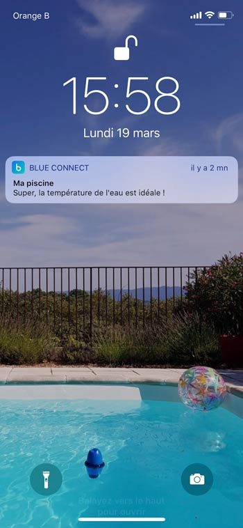 Smartphone de notificaciones push