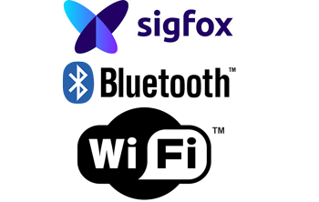 Query pool thermometers via Bluetooth, Wlan of Sigfox