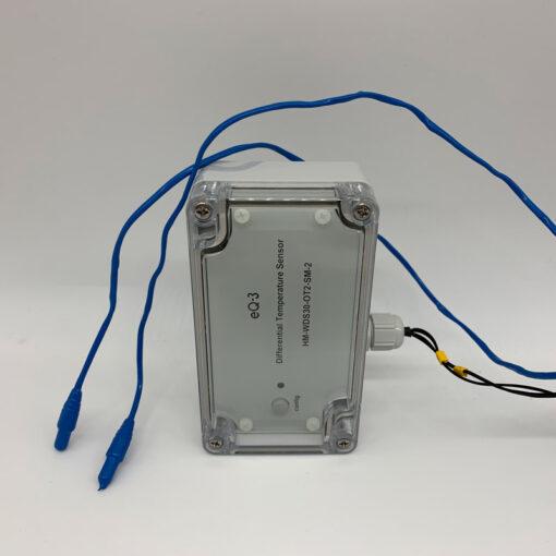 Modificación del sensor de temperatura de diferencia homemática - Termómetro de piscina inteligente